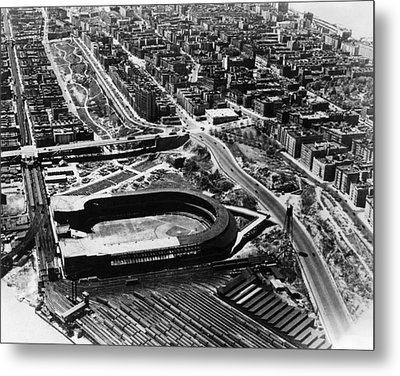 The Polo Grounds, New York October 3 Metal Print by Everett