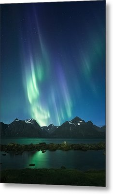 The Pond And The Fjord Metal Print by Tor-Ivar Naess