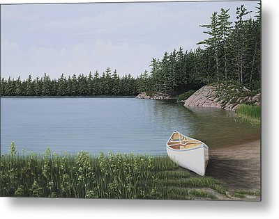 The Portage Metal Print by Kenneth M  Kirsch