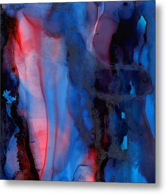 The Potential Within - Squared 1 - Triptych Metal Print by Michelle Wrighton