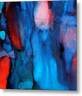 The Potential Within - Squared 3 - Triptych Metal Print by Michelle Wrighton