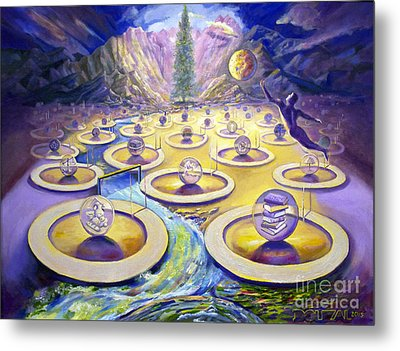 The Progression Of Generations Metal Print by Alfred Dolezal