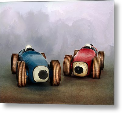 The Race Metal Print by David and Carol Kelly