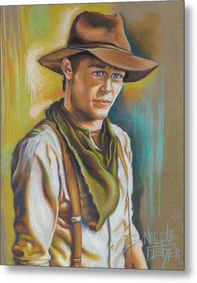 The Ranch Hand  Metal Print by Nicole Fisher