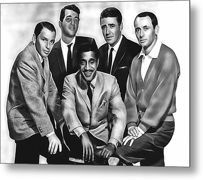 The Rat Pack Metal Print by Marvin Blaine