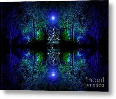 The Realm Of Ganesha Metal Print by Tim Gainey