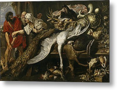 The Recognition Of Philopoemen Metal Print by Peter Paul Rubens