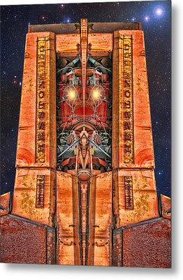 The Recycled King Metal Print by Wendy J St Christopher