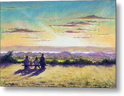 The Remains Of The Day Metal Print by Anthony Rule