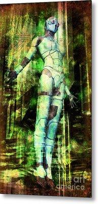 The Revelations Of Glaaki Metal Print by Luca Oleastri