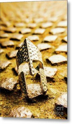 The Roman Pavement Metal Print by Jorgo Photography - Wall Art Gallery