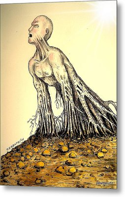 The Roots Are Deep Metal Print by Paulo Zerbato