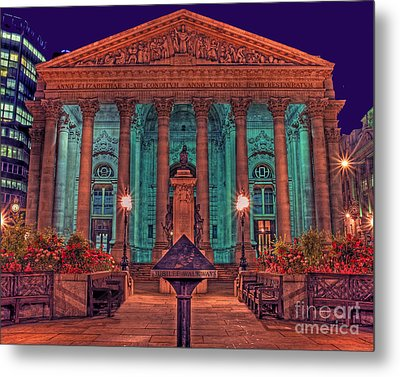 The Royal Exchange In The City London Metal Print by Chris Smith
