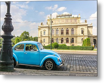 The Rudolfinium In Prague Metal Print by Jim Hughes