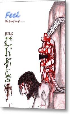 The Sacrifice Metal Print by Abhay Pratap Singh Tomar