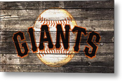 The San Francisco Giants W1 Metal Print by Brian Reaves