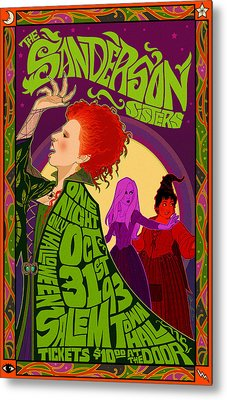The Sanderson Sister Live In Concert Metal Print by Christopher Ables