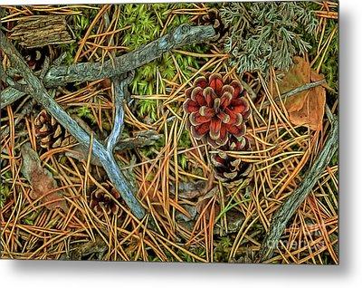 The Scent Of Pine Forest II Metal Print by Veikko Suikkanen