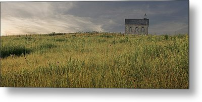 The Schoolhouse  Metal Print by Ryan Heffron
