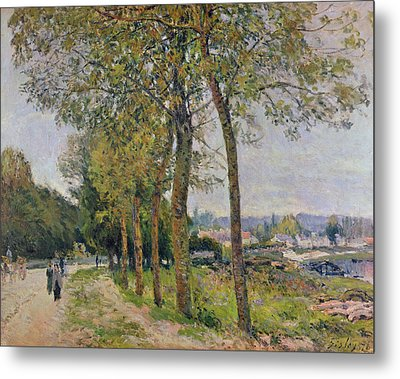 The Seine At Marly Metal Print by Alfred Sisley