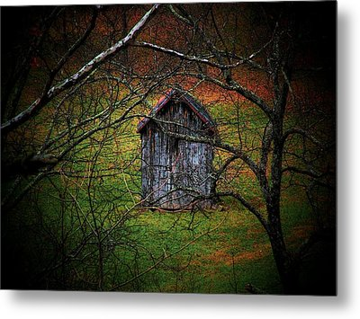 The Shed Metal Print by Michael L Kimble