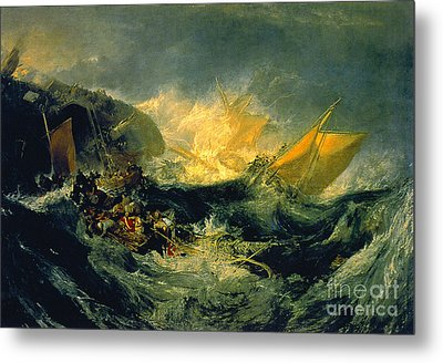 The Shipwreck Of The Minotaur Metal Print by MotionAge Designs