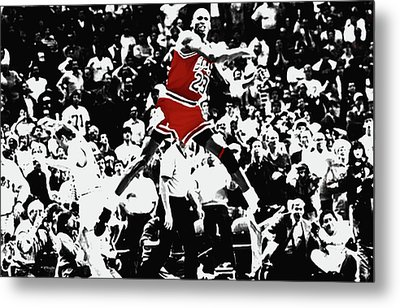 The Shot Metal Print by Brian Reaves