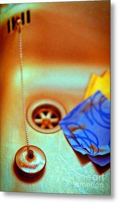 The Sink Metal Print by Silvia Ganora