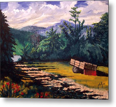 The Smokies Metal Print by Jim Phillips