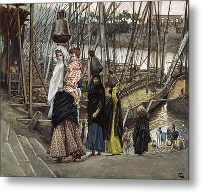 The Sojourn Metal Print by Tissot