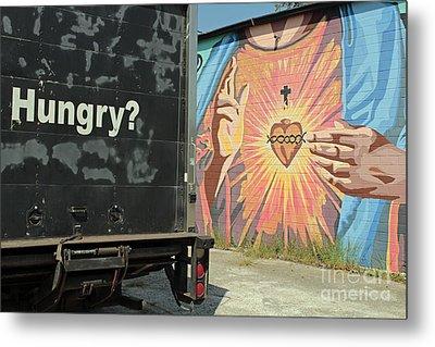 Spiritual Hunger Metal Print by Joe Jake Pratt