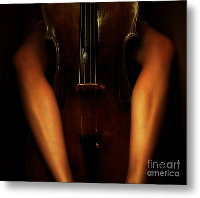 The Sound Of Eroticism   Metal Print by Steven  Digman