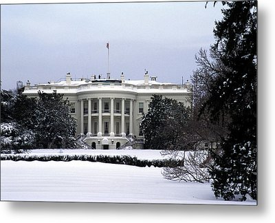 The South View Of The White House Metal Print by Stacy Gold