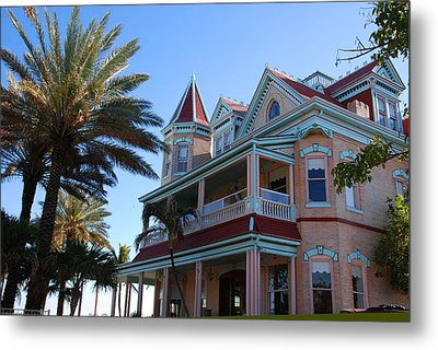 The Southernmost House In Key West Metal Print by Susanne Van Hulst
