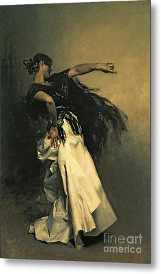 The Spanish Dancer Metal Print by John Singer Sargent