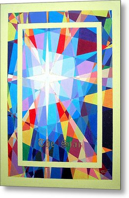 The Star Metal Print by Thomas Campbell