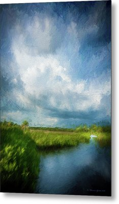 The Storm Metal Print by Marvin Spates