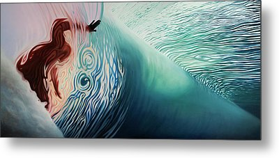 The Surface Metal Print by Kelly Meagher