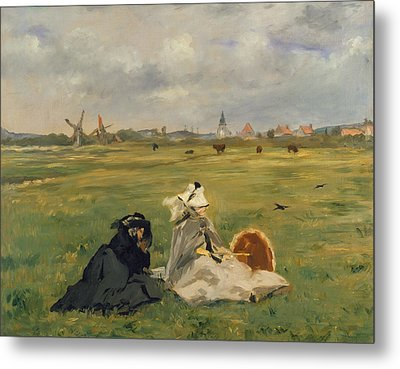 The Swallows Metal Print by Edouard Manet