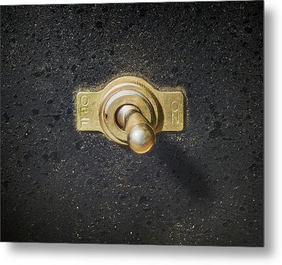 The Switch Metal Print by Scott Norris