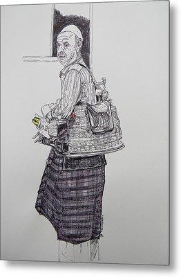The Tea Man Metal Print by Marwan George Khoury