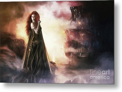 The Tempest Metal Print by Shanina Conway