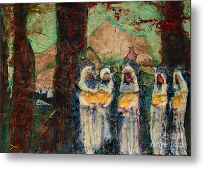 The Ten Virgins Metal Print by Debi Bond