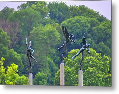 The Three Angels Metal Print by Bill Cannon