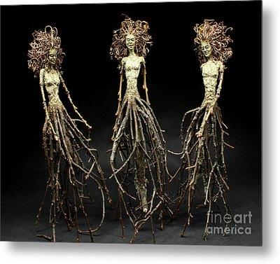 The Three Graces Dance Metal Print by Adam Long
