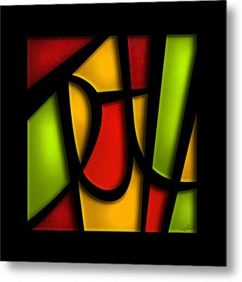 The Truth - Abstract Metal Print by Shevon Johnson
