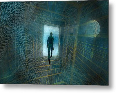The Tunnel Metal Print by Carol and Mike Werner