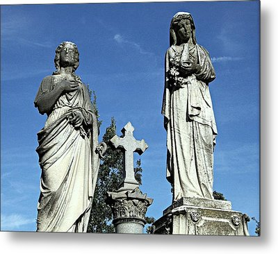 The Two Mary's Metal Print by James DeFazio