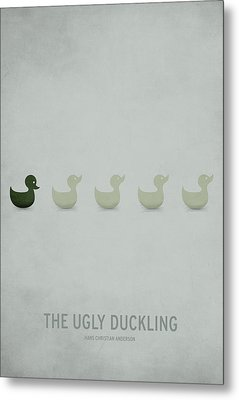 The Ugly Duckling Metal Print by Christian Jackson