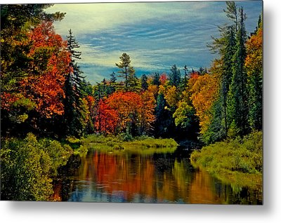 The Upper Branch Of The Moose River Metal Print by David Patterson